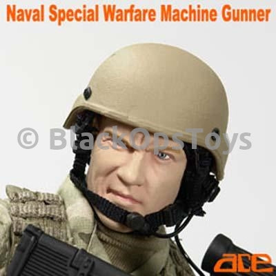 Naval Special Warfare Tan Helmet Set w/Padding