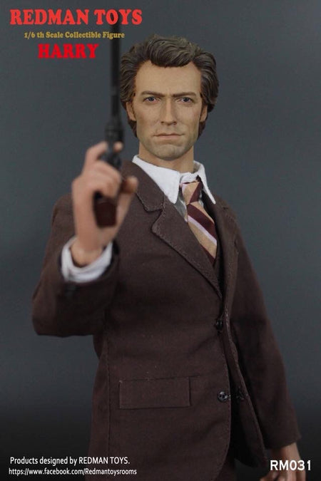 PREORDER Inspector Harry Clint Eastwood MINT IN BOX