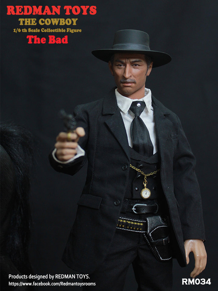 Cowboy - The Bad -Male Base Body w/Suit Set
