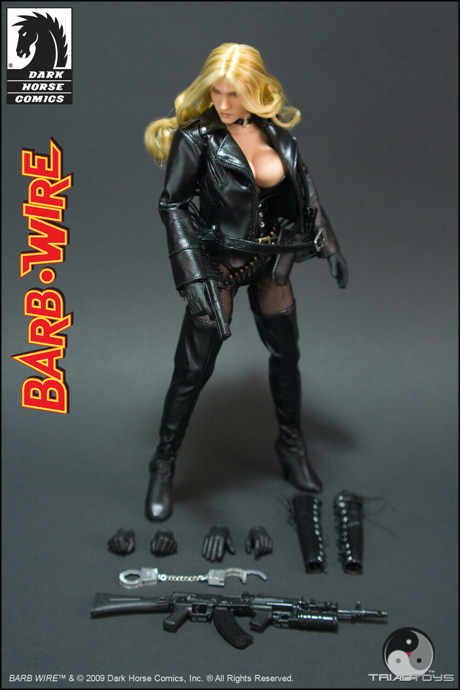 Barb Wire - Metal Bullet Chain