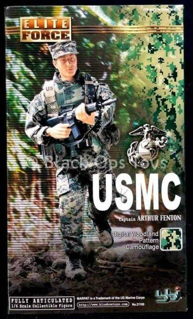 "USMC - Captain ""Arthur Fenton"" - Green Combat Boots (Foot Type)"