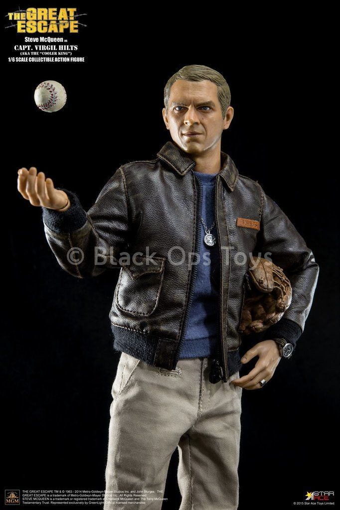 The Great Escape - Steve McQueen - Figure Base Stand