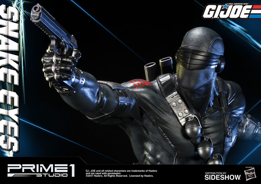 1/4 scale - G.I. Joe Snake Eyes Statue - Exclusive Edition - MINT IN BOX