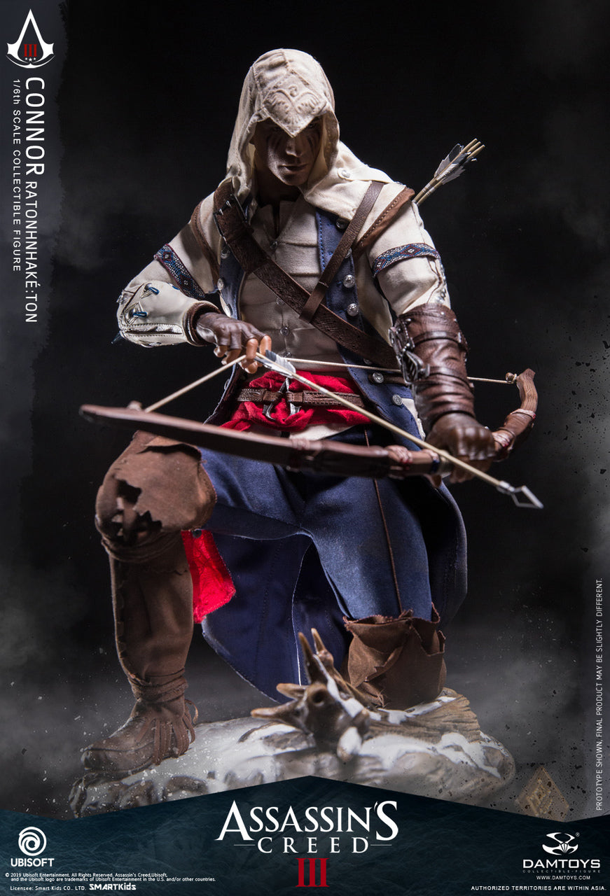 Assassins Creed 3 Connor Native American Tomahawk Blackopstoys