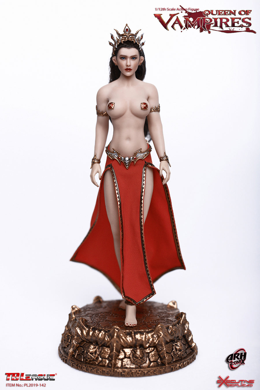 1/12 - Queen Of Vampires - Gold Staff w/Red Bulb