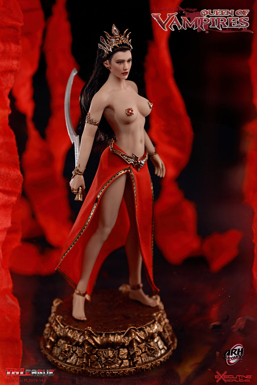 1/12 - Queen Of Vampires - Female Foot Set