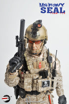 U.S. Navy Seal - Tan Helmet w/NVG Set