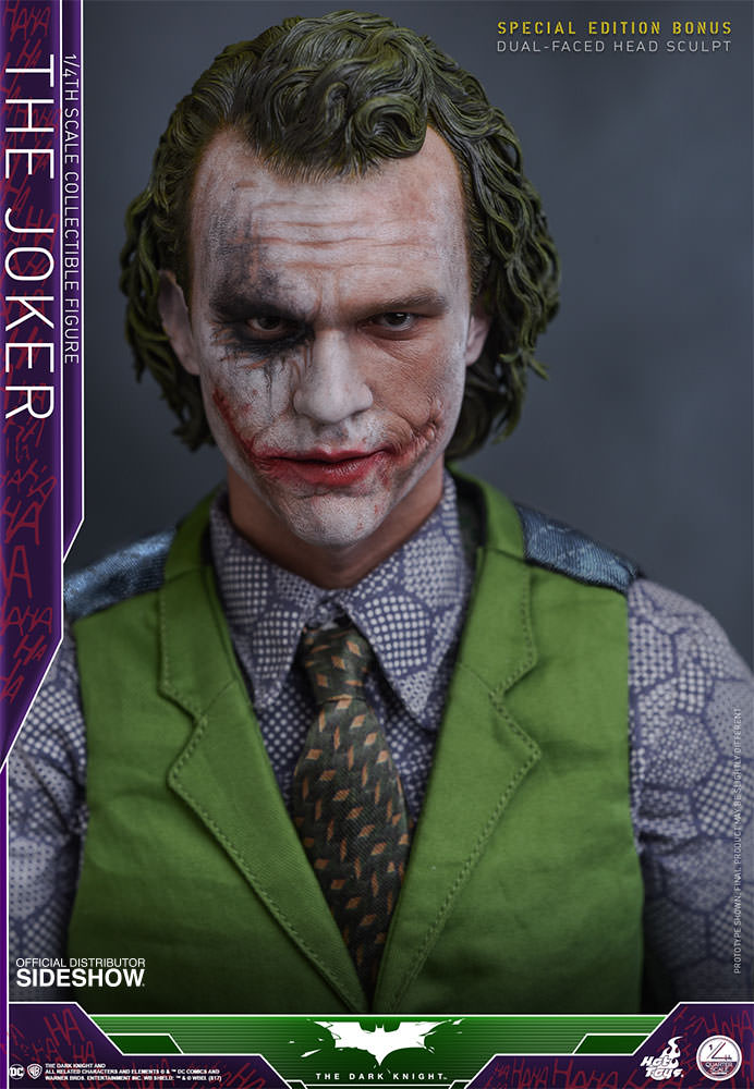 1/4 scale - The Dark Knight - Joker - Exclusive Edition - MINT IN BOX