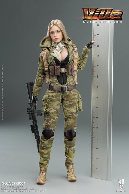 PREORDER - 1/12  - Women Soldier Villa - MINT IN BOX