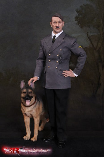 WWII - Dictator Adolf Hitler w/German Shepherd Dog Combo - MINT IN BOX