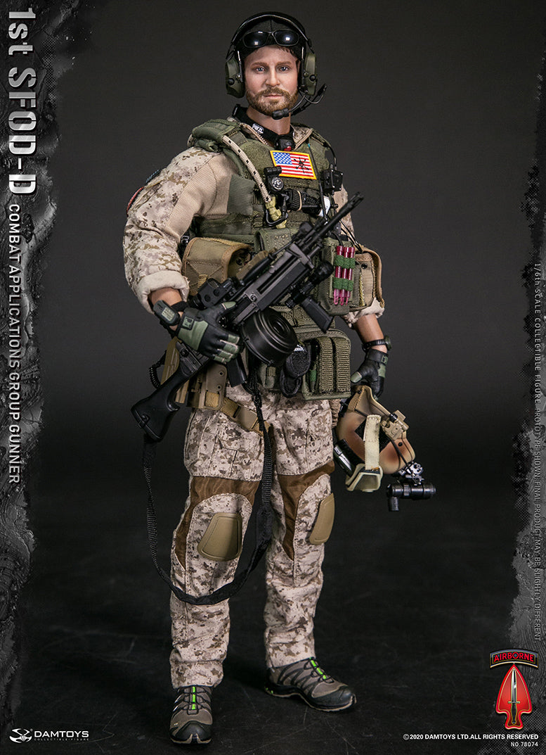 1ST SFOD-D CAG Gunner - MINT IN BOX