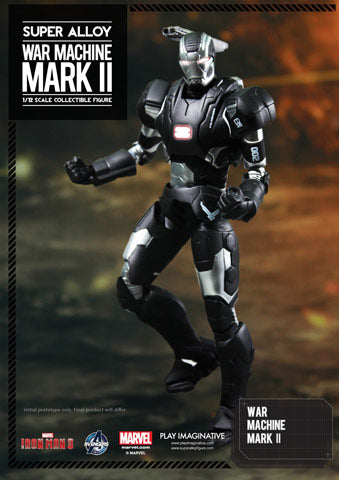1/12 - Iron Man 3 - War Machine Mark II - MINT IN BOX