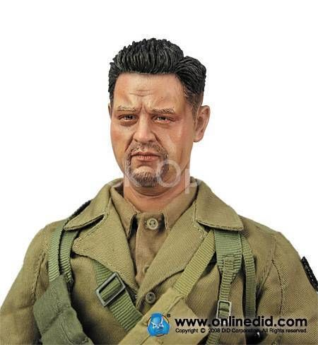 WWII - U.S. Army Infantry - Male Base Body w/Head Sculpt