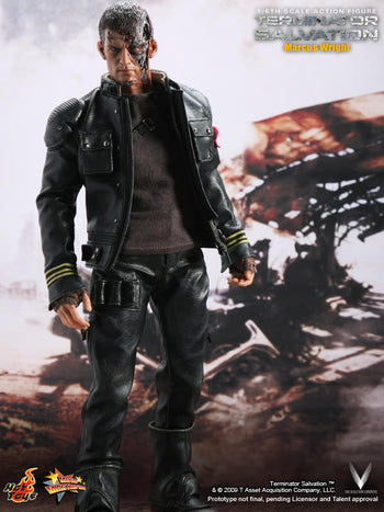 Terminator Salvation - Marcus Wright - MINT IN BOX