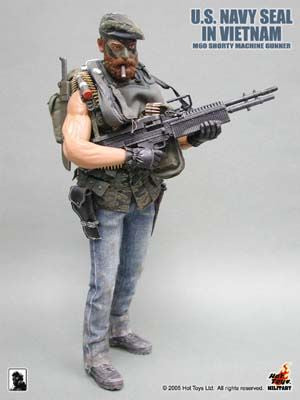 Navy Seal M60 Shorty Machine Gunner - MINT IN BOX