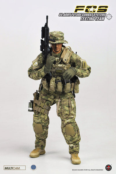 US Army FCS Testing Team - Radio w/Headset