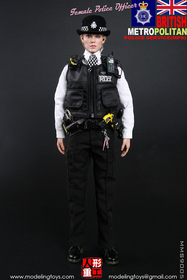 British MPS Female Police Officer - MINT IN BOX