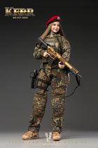 Flecktarn Soldier Kerr - Red Beret