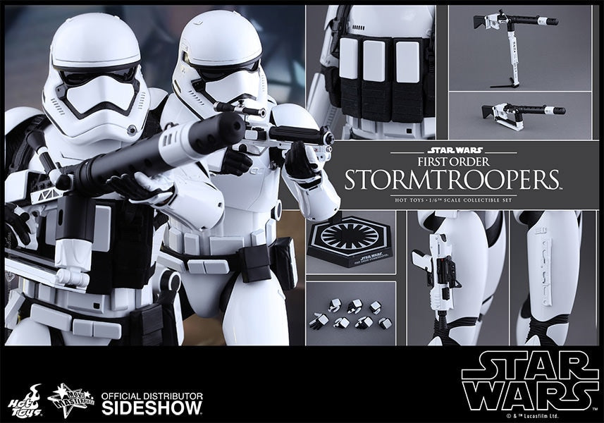 STAR WARS - Stormtrooper - Black Utility Belt w/Pouches