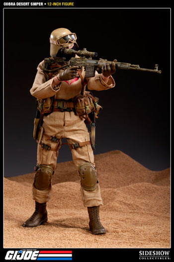 GI Joe - Cobra Desert Ops Trooper: Sniper - MINT IN BOX