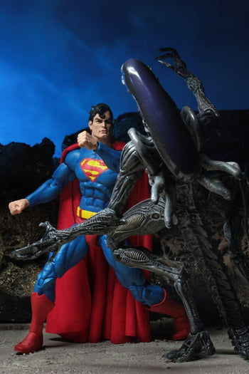 SDCC Exclusive - Superman Vs. Xenomorph - MINT IN BOX