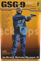 German GSG-9 - Grey Jumpsuit w/Black Belt