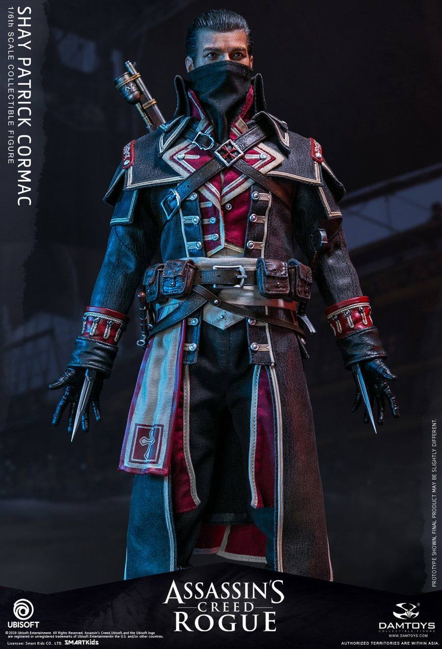 Assassins Creed Rogue - Shay - Male Base Body w/Head Sculpt