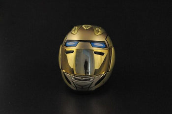 Iron Man Motorcycle Helmet - Gold - MINT IN BOX