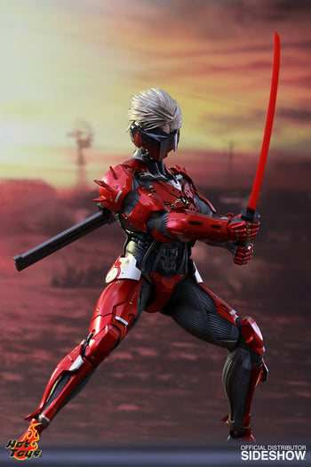 Metal Gear Rising - Raiden - Inferno Armor Version - MINT IN BOX