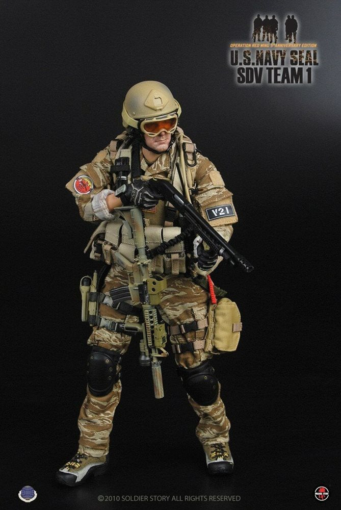 NAVY SEAL SDV Team 1 - Male Base Body w/Head Sculpt