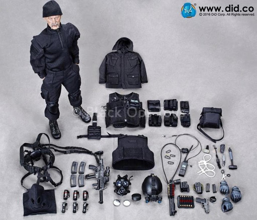 British Special Air Service SAS B Squadron Black Ops Team Sean Mint in Box