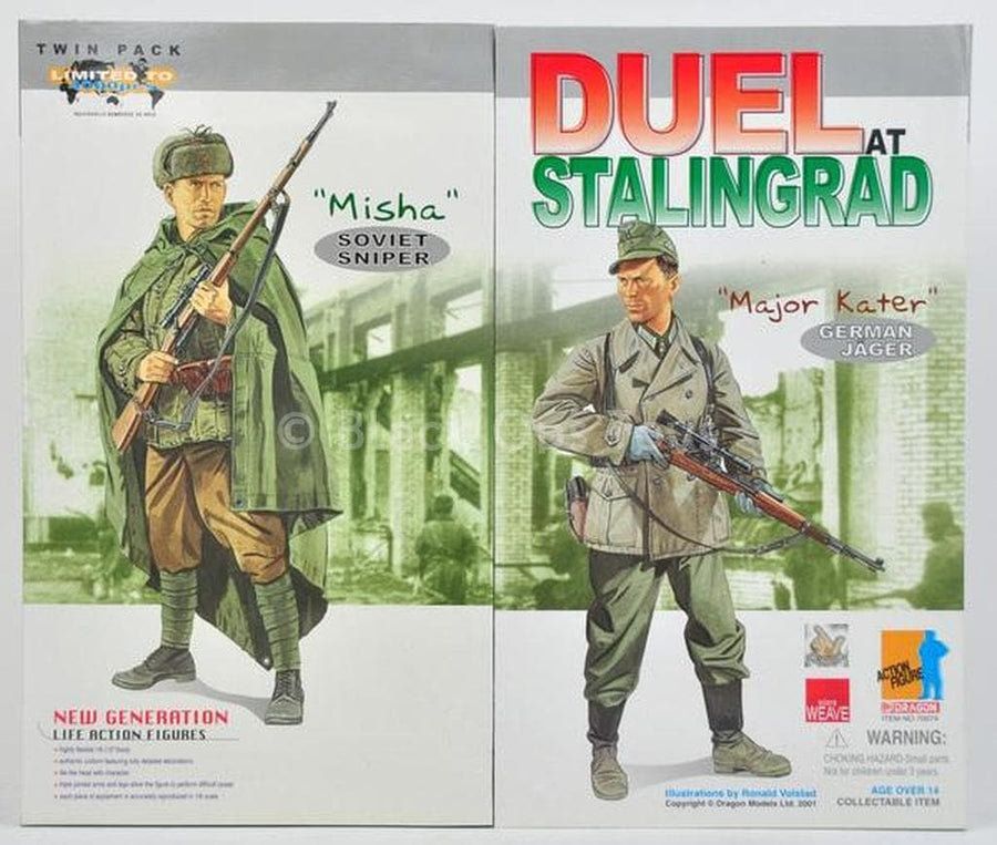 Duel At Stalingrad Twin Pack - MINT IN BOX
