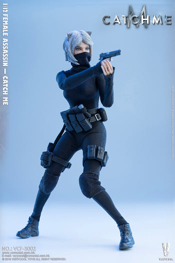1/12 scale - Catch Me Female Assassin - MINT IN BOX