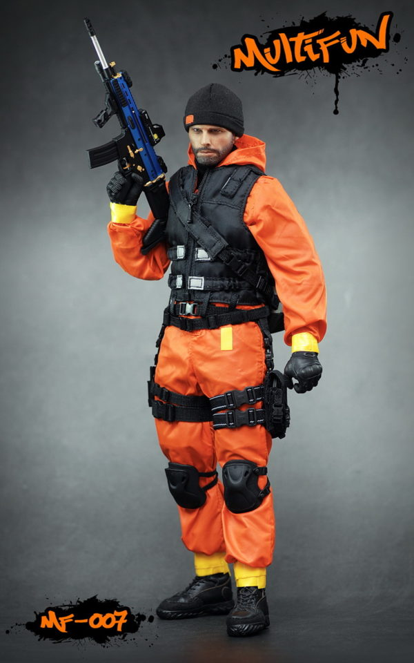 Quarantine Zone Agent - Low Visibility Body Armor
