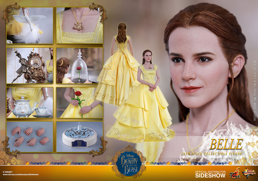 Beauty & The Beast - Belle - Female Wrist Pins