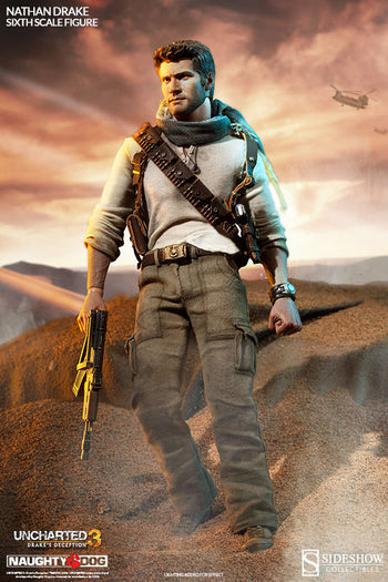 Uncharted 3 - Nathan Drake Exclusive - MIOB (Read Desc)
