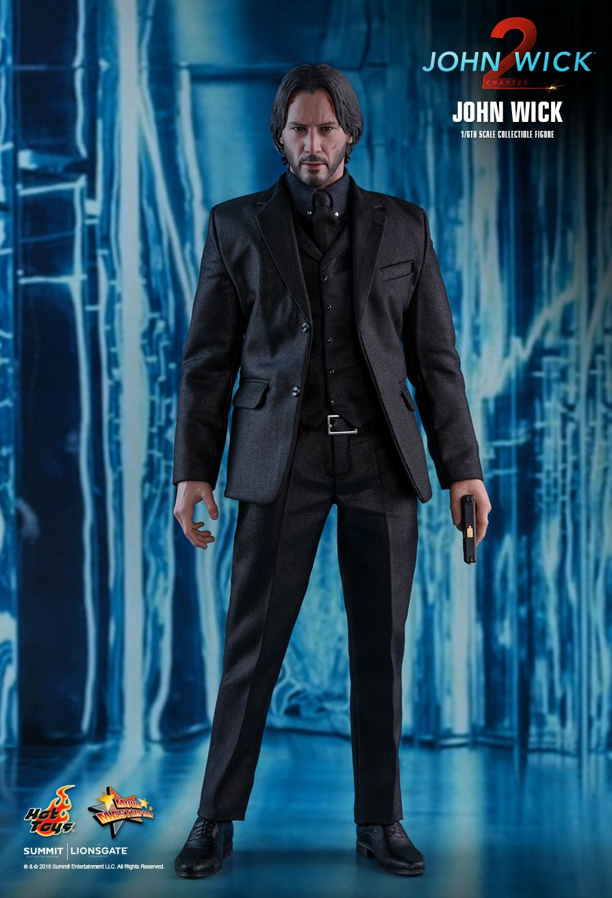 1//6 scale toy John Wick Black Kel-Tec KSG Shotgun