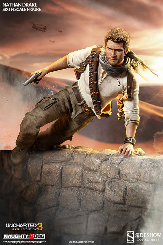 Uncharted 3 - Nathan Drake - Exclusive Version - MINT IN BOX