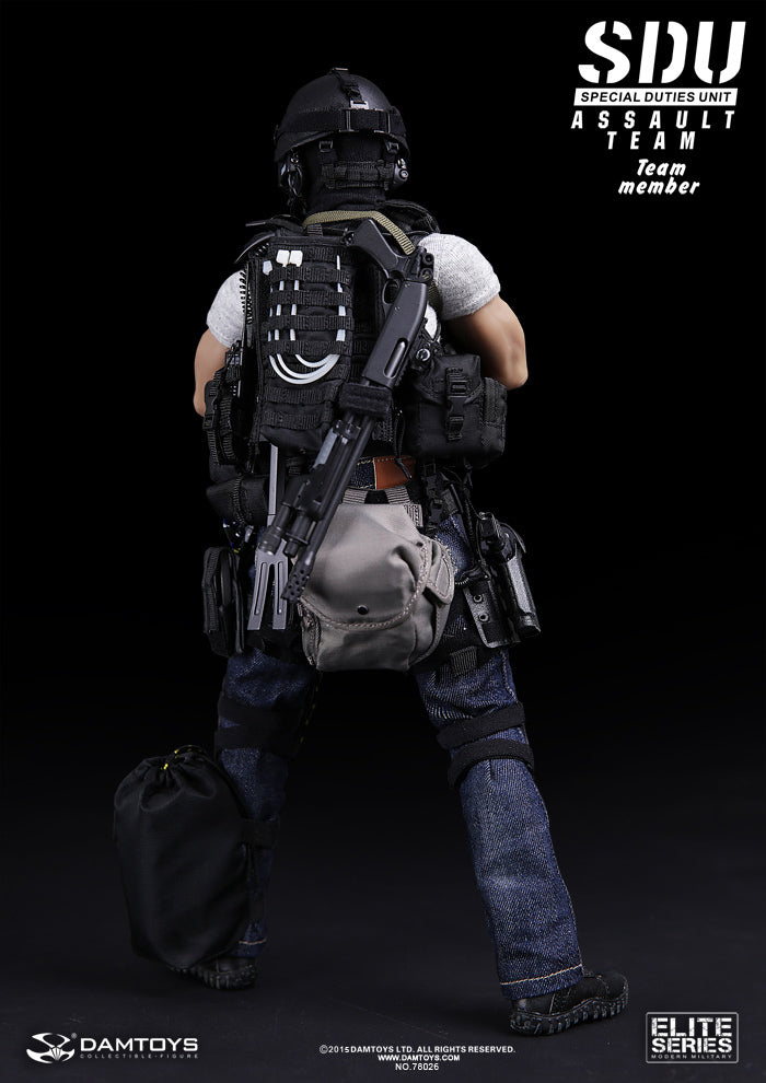 SDU - Assault Team Member - Silver Butt Pack
