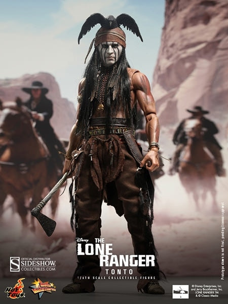 Lone Ranger - Tonto - Base Figure Stand