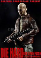 Die Hard - John McClane - Bloody Male Base Body w/Uniform Set