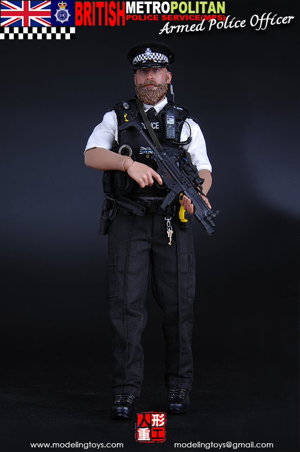 British - Armed MPS - Male Base Body w/Padding