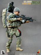 U.S. Army Special Forces Sniper - Pistol w/Drop Leg Holster
