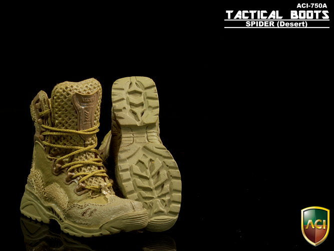 Spider Desert Tactical Boots (Peg Type) - Mint in Box