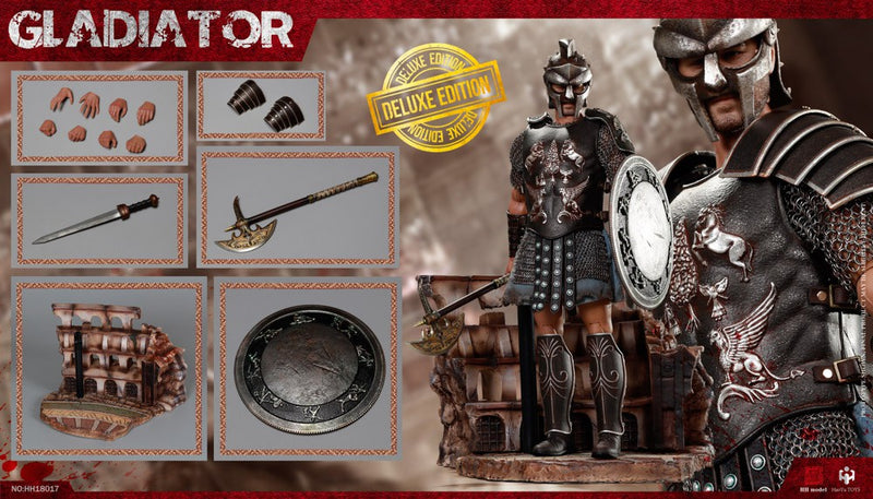Empire Legion - Empire Gladiator - Metal Sword w/Shield