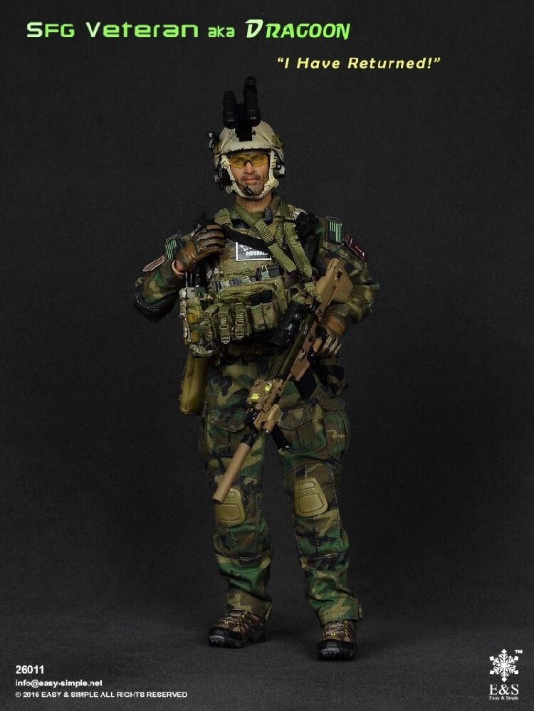 SFG Veteran - Dragoon - Multicam Chest Rig & Pouch Set