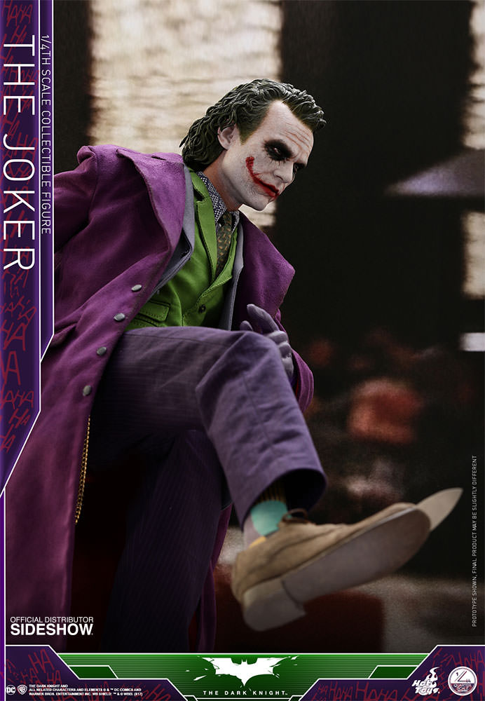 1/4 scale - The Dark Knight - Joker - Collectors Edition - MINT IN BOX