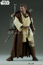 STAR WARS - Obi Wan Kenobi Head Sculpt in Alec Guinness Likeness