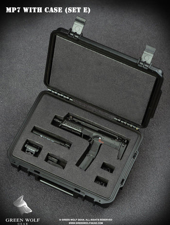 Black & Tan HK MP7 w/Black Pelican Case - MINT IN BOX