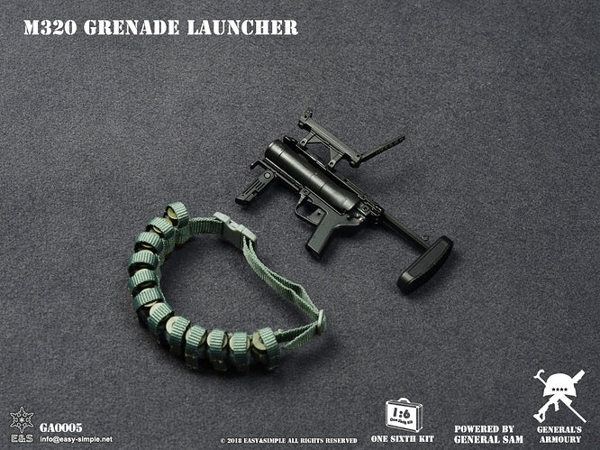 M320 40 Mike Mike Grenade Launcher - MINT IN BOX